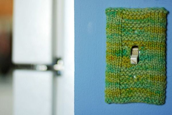 Garter-strip-light-switch-cover