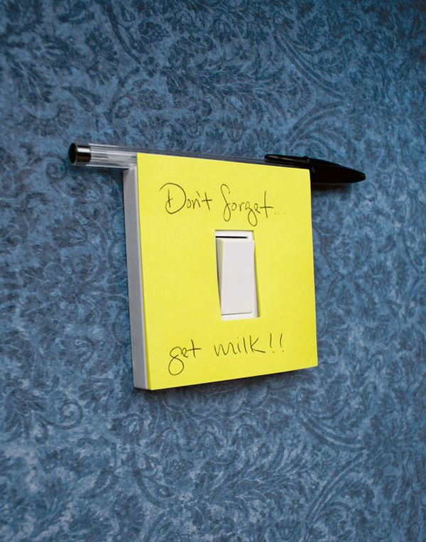stiky-notes-light-switch