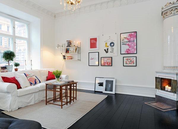 今すぐ参考にしたい!素敵な北欧風リビングルーム-Scandinavian Living Room Designs