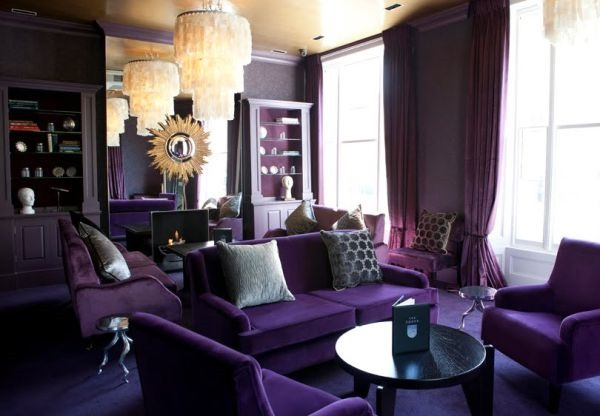 monochromatic-purple-rooms