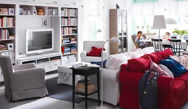 こんなリビングでくつろぎたい!IKEAカタログを振り返ってみよう-2011 IKEA Living Room Design Ideas
