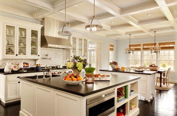 なんかかっこいい!完全開放型アイランドキッチン-Kitchen Island