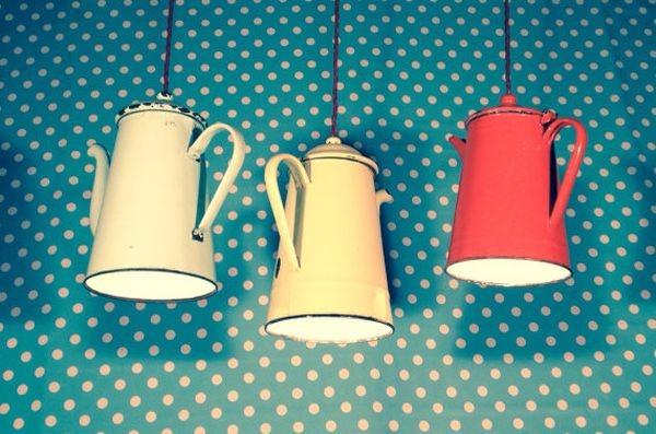 大変身!ペンダントライトになったキッチン用品-The pendant light for kitchens
