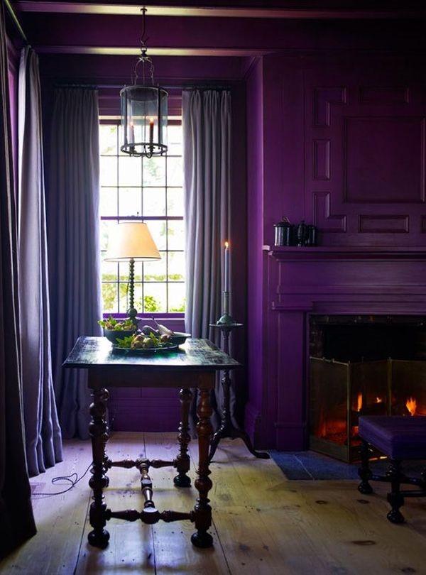 単色シリーズ3!神秘的な紫色の部屋-Monochromatic Purple Rooms
