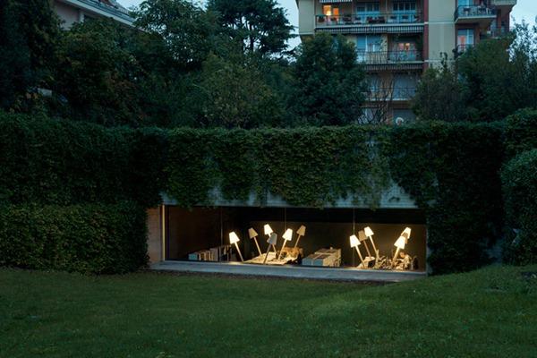 コンバージョン!地下駐車場が建築事務所に生まれ変わる-underground garage turned architecture office