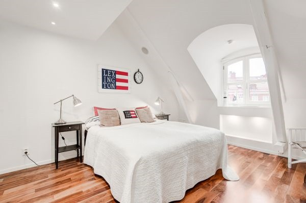 white-simple-bedroom-attic