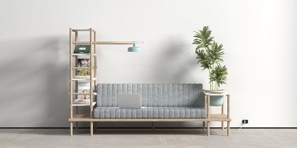 これ欲しい!横着者におすすめ多機能ソファ-A Multifunctional Sofa