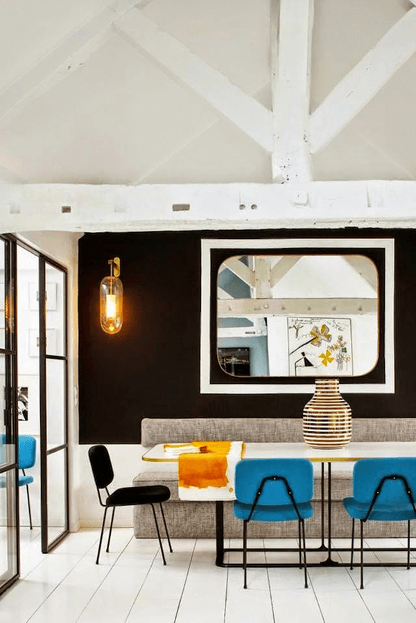 オシャレすぎる! パリのインテリアデザイナーによる真の洗練されたスタイル – Apartment in Paris