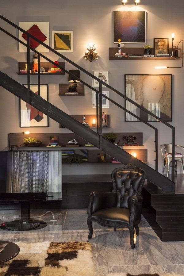 真の大人が住んでいそう!高級感漂うコーディネートが素敵すぎる部屋-An Artful Loft Design