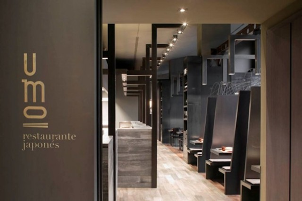 ダークカラーが超COOL!スペインの日本料理屋-Umo Japanese Restaurant