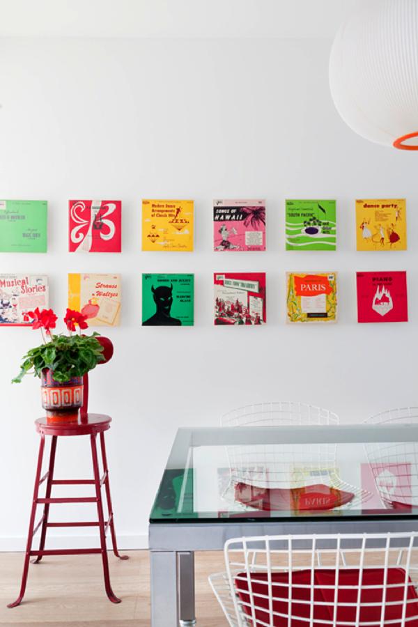 ポップな色使いがハイセンスすぎる!テキスタイルデザイナーが手がけた家−Textile designers' house