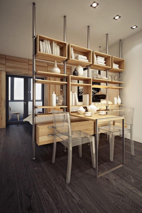 こんな部屋で一人暮らししてみたい!収納スペースを確保したホテルライクな部屋−Storage room
