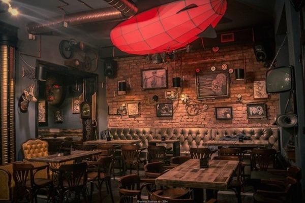 大人の秘密基地!ルーマニアのスチームパンクパブ-Steampunk Pub