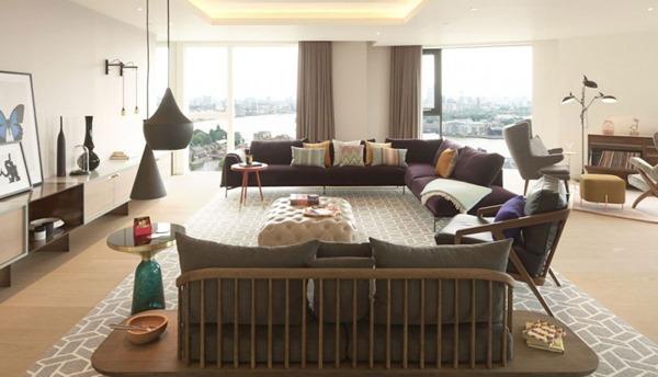 洗練されたコーディネート!ロンドンが一望できるペントハウス!-The penthouse in London