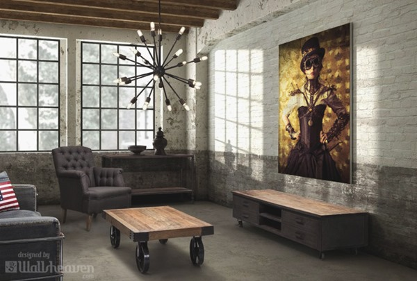 steampunk-interiors