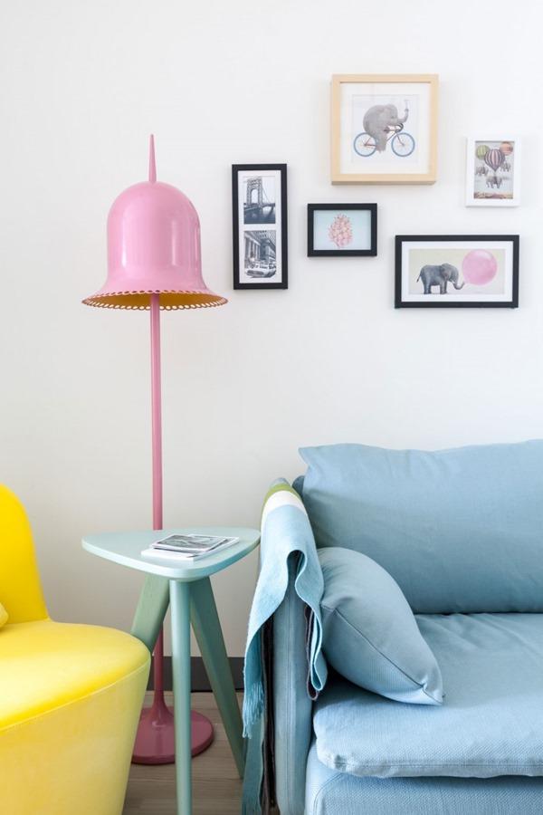 明るい色でポジティブシンキング!可愛いもの好きな人にオススメの部屋-The Wonderland Apartment