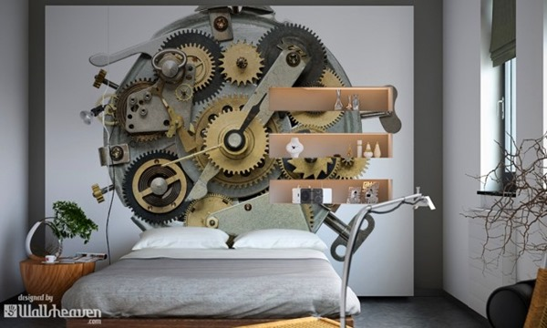 痺れるかっこよさ!壁を利用したスチームパンクな部屋いろいろ-Steampunk interiors