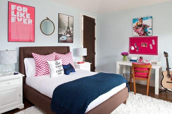 寝室コーディネートのヒント!ティーンエイジャーの寝室いろいろ-Decorating a Teenager's Bedroom