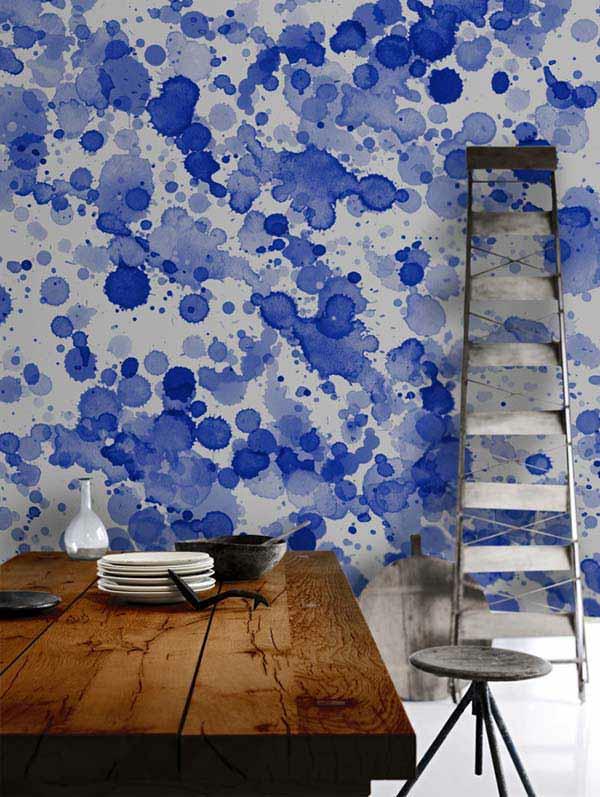 これでオシャレ度ぐーんとUP!淡い水彩が美しい壁まとめ−Catching Watercolor Walls