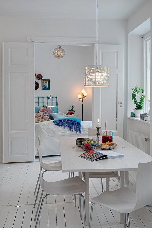 カラーコーディネートが素敵!白好き必見のアパートメント−White Heirloom Apartment