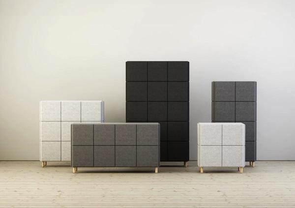お洒落なオフィスにはこれ!デザイン性や吸音性にも優れた家具がすごい!