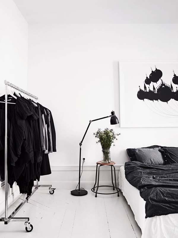 black-and-white-bedrooms