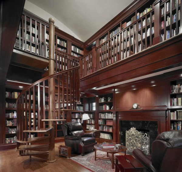 classic-home-library