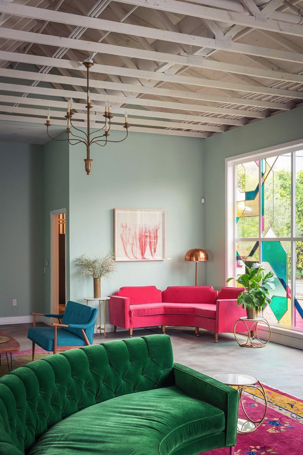 style4 decor jewel tones color trend home decor interior design