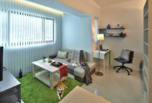 シンプル イズ ベスト!さっぱりとした一人暮らしアパートメント